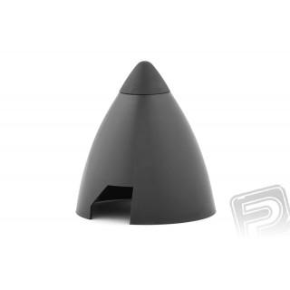 Plastový kužel 60mm černý