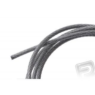 Nylon-ocelové lanko 2mm, délka 915mm