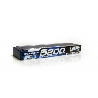 HV Hyper LCG Modified GRAPHENE-4 5200mAh Hardcase Akku - 7.6V LiPo - 120C/60C