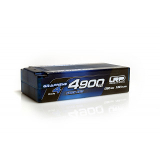 HV Stock Spec Shorty GRAPHENE-4 4900mAh Hardcase Akku - 7.6V LiPo - 135C/65C