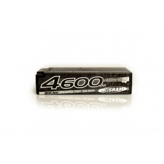 HV LCG Modified Shorty GRAPHENE-4 4600mAh Hardcase Akku - 7.6V LiPo - 120C/60C