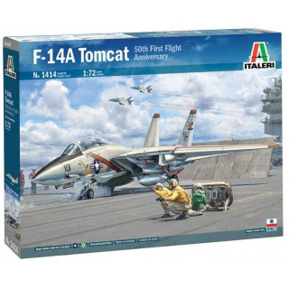 Model Kit letadlo 1414 - F-14A Tomcat (1:72)
