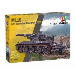 Model Kit tank 6574 - M110 (1:35)