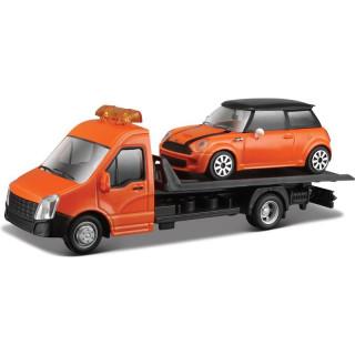 Bburago odtahovka s Mini Cooper S