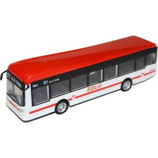Bburago City Bus červený