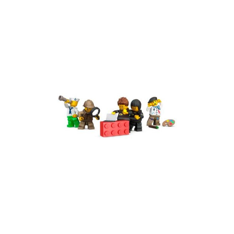 LEGO mini box 46x92x43mm - bílý