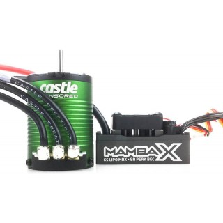 Castle motor 1406 4600ot/V senzored s reg. Mamba X