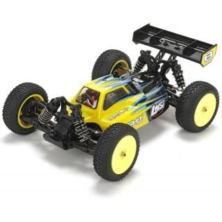 Losi Mini 8IGHT 1:14 4WD Bl AVC RTR černá
