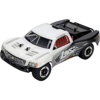 Losi Micro-Short Course 1:24 4WD RTR bílý/šedý