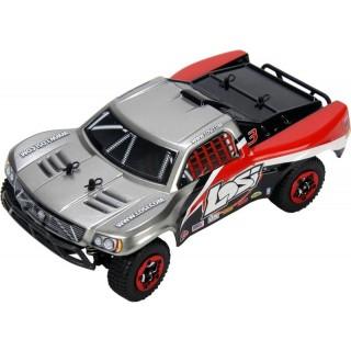 Losi Micro-Short Course 1:24 4WD RTR šedý/červený
