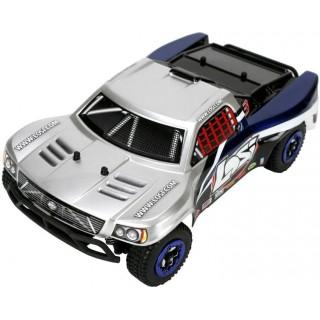 Losi Micro-Short Course BL 1:24 4WD RTR stříbrný