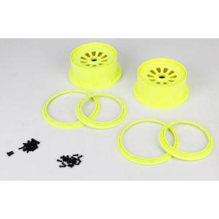 5TT: Disky s pojistnými kroužky žluté (4)