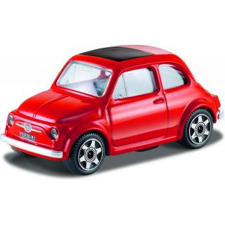 Bburago Fiat 500F 1:43 červená