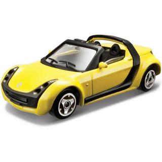 Bburago Smart Roadster 1:43 žlutá