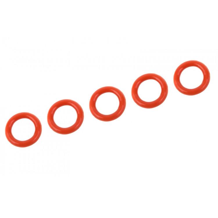 Silikonový O-kroužek 5x8mm, 5 ks.