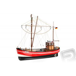 CUX 10 rybářský kutr 1:50 kit