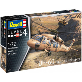 Plastic ModelKit vrtulník 04976 - UH-60 (1:72)