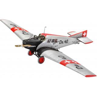ModelSet letadlo 63870 - Junkers F.13 (1:72)
