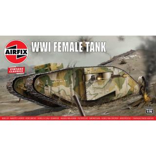 Classic Kit VINTAGE tank A02337V - WWI Female Tank (1:76)