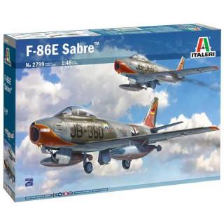 "Model Kit letadlo 2799 - F-86E ""Sabre"" (1:48)"