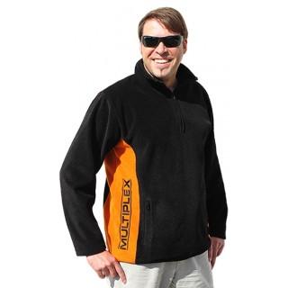852930 černá fleece mikina XL