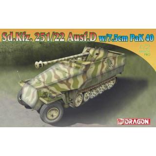 Model Kit military 7351 - Sd.Kfz.251/22 Ausf.D w/7.5cm PaK 40 (1:72)