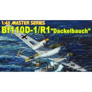 "Model Kit letadlo 5556 - Bf110-D1/R1 ""DACKELBAUCH"" (1:48)"