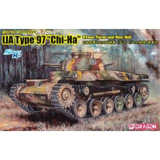 "Model Kit military 6875 - IJA Type 97 ""Chi-Ha"" w/57mm Gun and New Hull (1:35)"