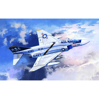 "Model Kit letadlo 12305 - F-4J ""VF-84 JOLLY ROGERS"" (1:48)"
