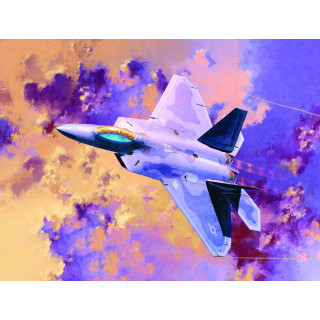 Model Kit letadlo 12423 - F-22A AIR DOMINANCE FIGHTER (1:72)