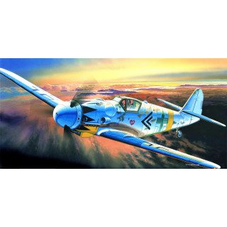 Model Kit letadlo 12454 - MESSERSCHMITT BF109G-14 (1:72)