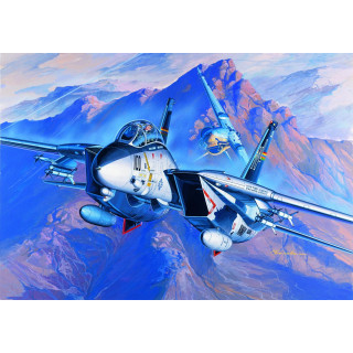 Model Kit letadlo 12471 - F-14A (1:72)