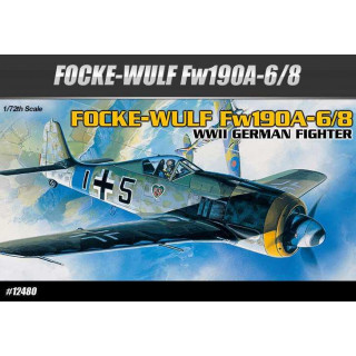 Model Kit letadlo 12480 - FOCKE-WULF FW190A-6/8 (1:72)
