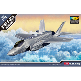 Model Kit letadlo 12507 - F-35A Lightning II MCP (1:72)