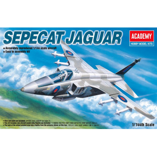 Model Kit letadlo 12606 - SEPECAT JAGUAR (1:144)