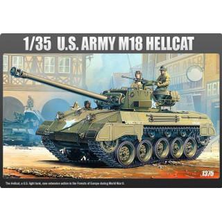 Model Kit tank 13255 - US ARMY M-18 HELLCAT (1:35)