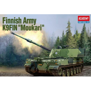 "Model Kit military 13519 - Finnish Army K9FIN ""Moukari"" (1:35)"