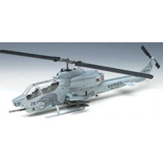 "Model Kit vrtulník 12116 - USMC AH-1W ""NTS UPDATE"" (1:35)"