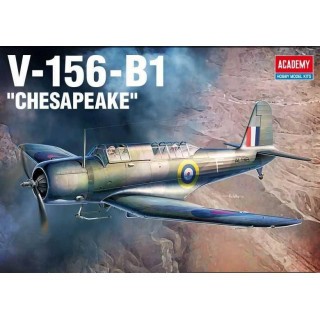 Model Kit letadlo 12330 - V-156-B1 Chesapeake (1:48)