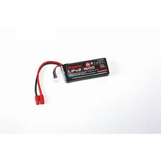 LiPo-Aku 2/1600 7,4V 25C s G3,5 konektorem