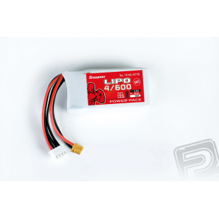 Power Pack LiPo 4/600 14,8 V 50C XT-30