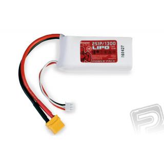 Power Pack LiPo 2/1300 7.4 V 70C XT60