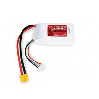Power Pack LiPo 4/1300 14,8 V 70C XT60