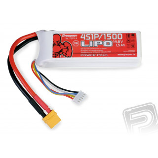 Power Pack LiPo 4/1500 14,8 V 70C XT60