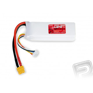 Power Pack LiPo 4/1600 14,8 V 70C XT60