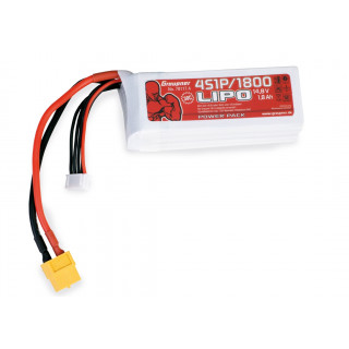 Power Pack LiPo 4/1800 14,8 V 30C XT60