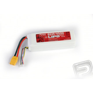 Power Pack LiPo 6/4500 22,2 V 70C XT90