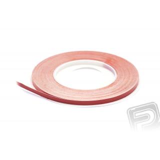 """SIG Superstripe 6,3mm (1/4"""") samolepící páska - červená"""