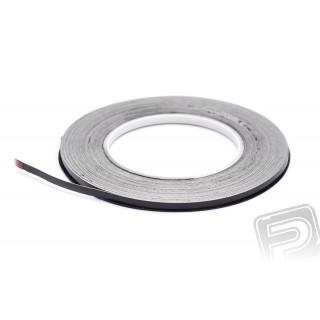 """SIG Superstripe 2,4mm (3/32"""") samolepící páska - černá"""