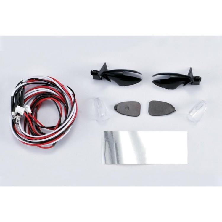 Killerbody zpětná zrcátka Touring s LED osvětlením